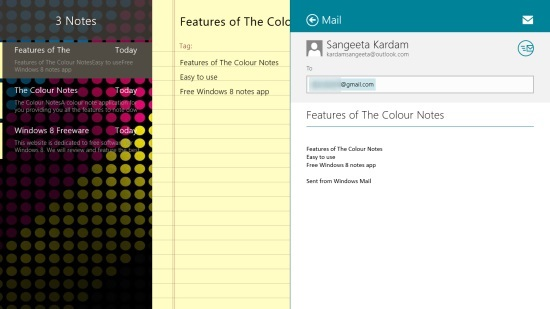 The Colour Notes - Sharing Notes