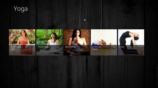 The Yoga app