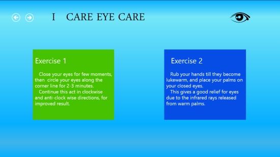 I Care Eye Care - Eye exercises