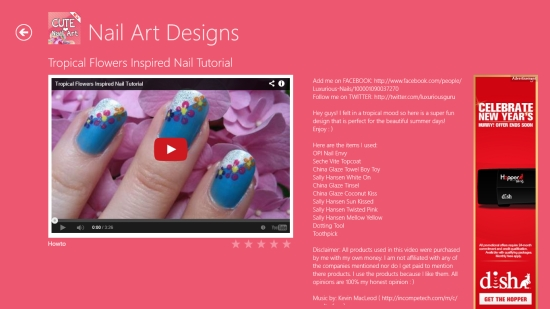 Nail Art Designs - Video Tutorial