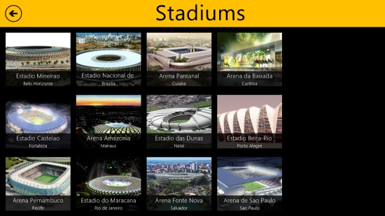 World Cup 2014 Free- Stadiums