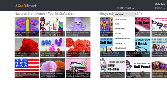 CraftSmart - Categories