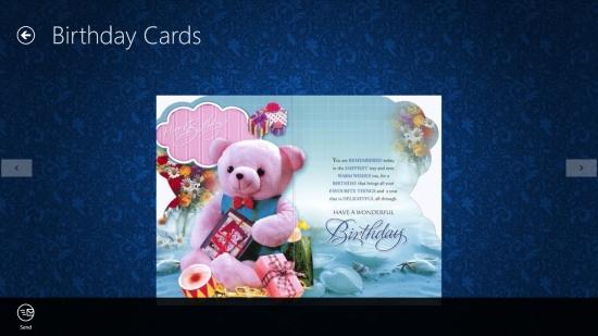 Send birthday ecards using this free windows 8 greeting card app happy birthday cards greeting card m4hsunfo