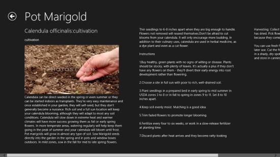 Windows 8 Gardening App Free: Medicinal Plants For Your Garden