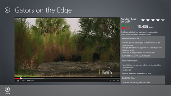 Nat Geo Wild - Favorited Video