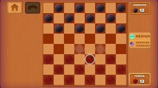 Checkers Deluxe gameplay