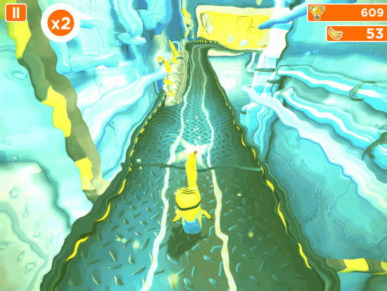Despicable Me- Minion Rush-Different paths