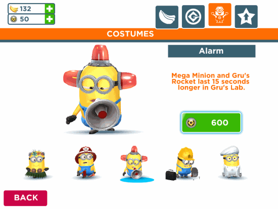 Despicable Me- Minion Rush-costumes