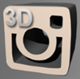 AxPhoto3D For Instagram app icon
