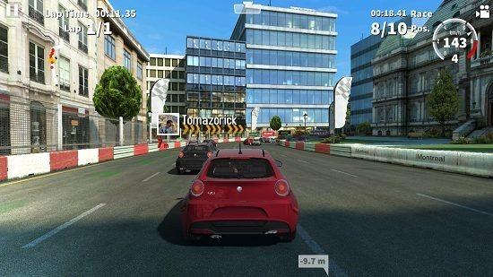 GT Racing 2 ongoing race