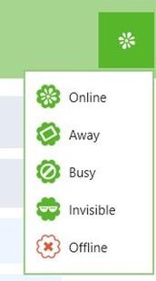 ICQ Set Status