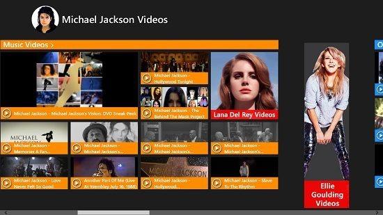Michael Jackson Videos Video Tiles