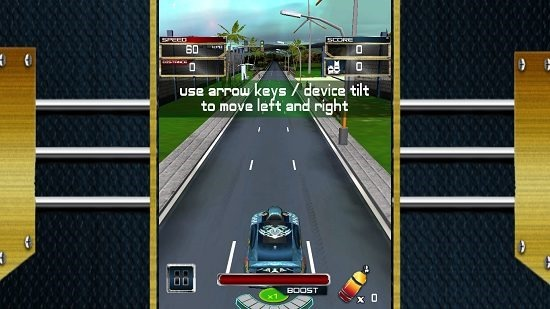 Real Highway Car Racing controls