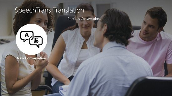 SpeechTrans Translator Logged In