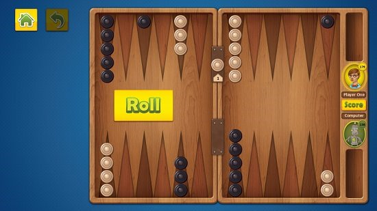 Backgammon Deluxe Gameplay