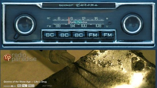Car Radio internet radio station playback