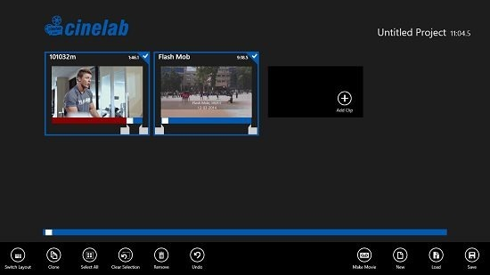 Cinelab Movie Interface