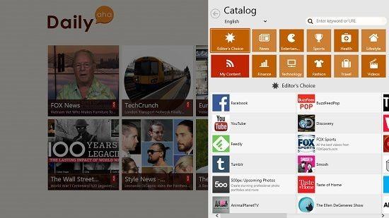 Dailyaha catalog page