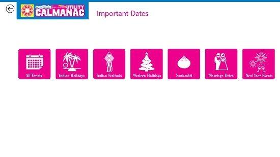 Kalnirnay Important Dates