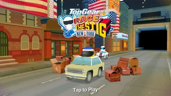 Top Gear Race The Stig main screen