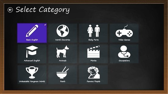 Hangman HD - Free categories