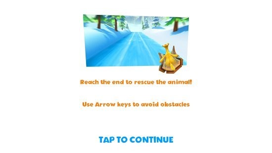 Ice Age Adventures Mini Game
