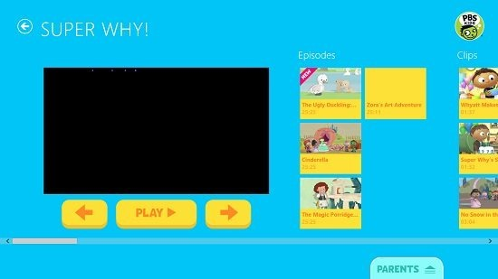 PBS Kids Video Episodes and clips