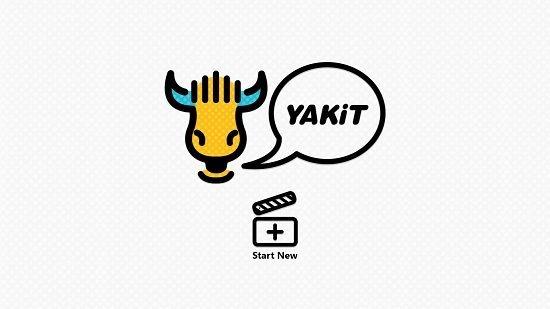 YAKiT main screen
