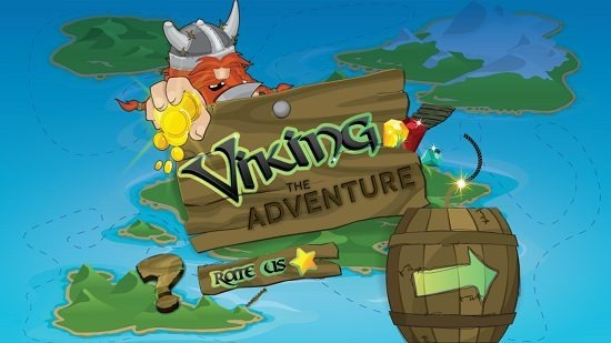 Viking The Adventure main screen