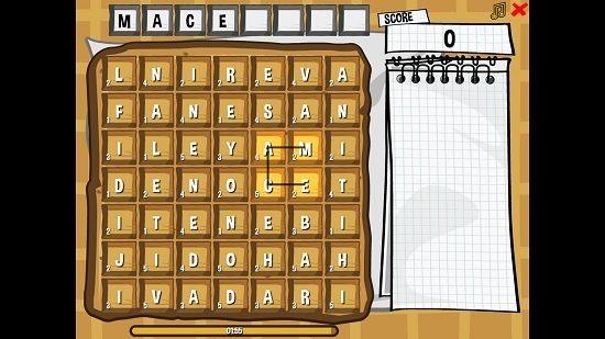 Word Waffle Gameplay