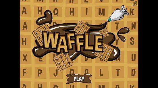 Word Waffle Main Screen