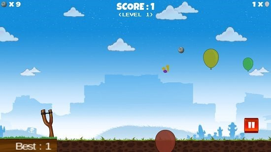 Balloon Shooting gameplay