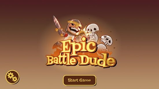 Epic Battle Dude Main screen