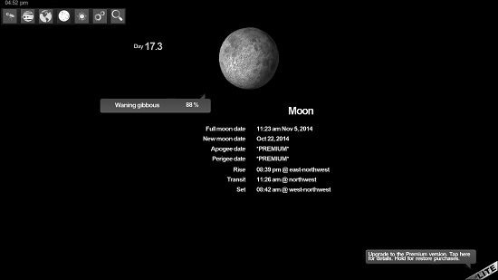SkyORB moon phases