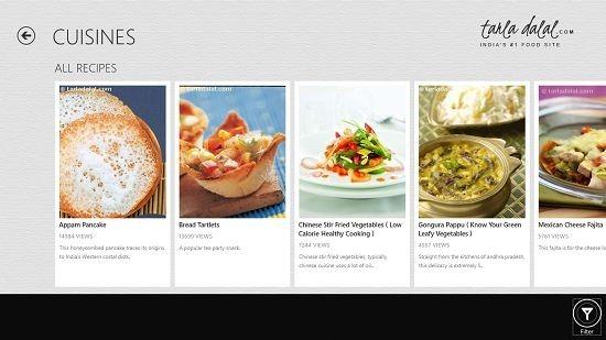 Tarla Dalal's Kitchen Cuisines