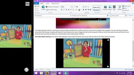 Art Attack Multitasking snapped