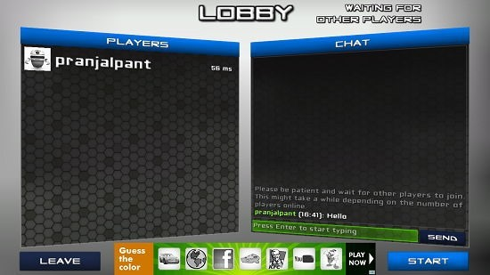 Battle Droids multiplayer chat