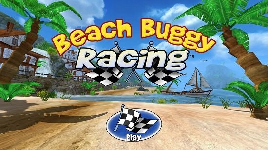 Beach Buggy Racing Main screen
