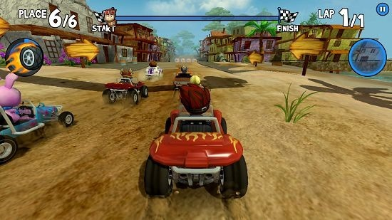 Beach Buggy Racing race