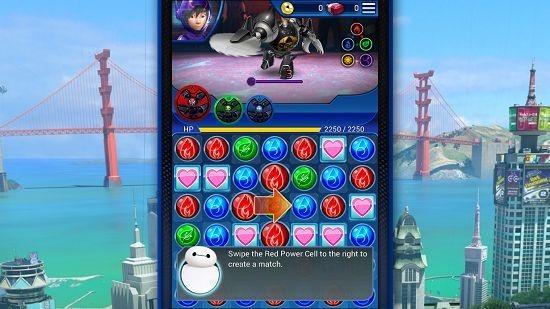 Big Hero 6 Bot Fight gameplay