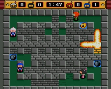 Bomberman still