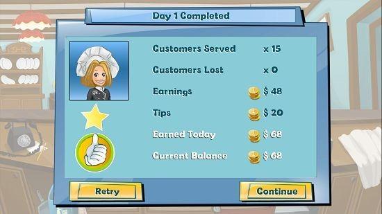 Happy Chef 2 level summary