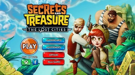 Secrets and Treasure The Lost Cities