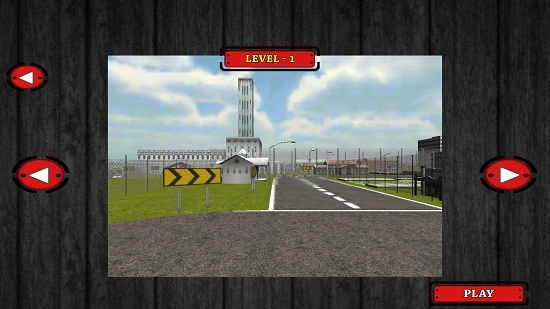Speed Car Fighter 3D 2015 Free level selection screen