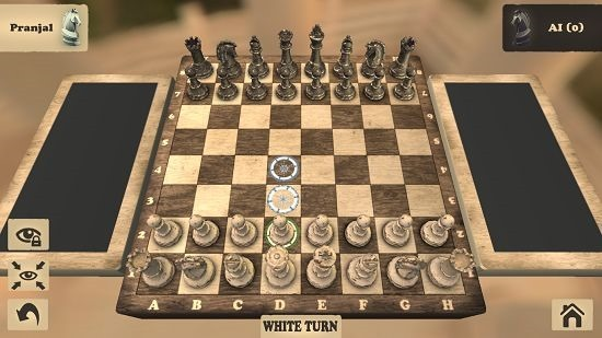 Chess Fusion Free gameplay possible moves