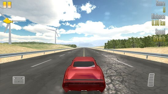 Highway Racer default camera