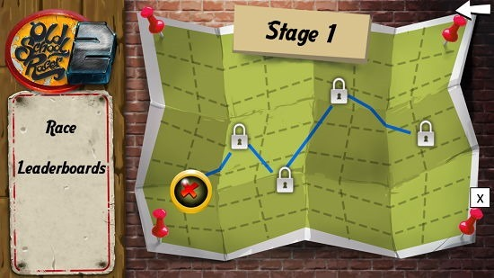 Old School Racer 2 select stage