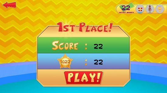 Skoolbo Core Skills literacy game victory