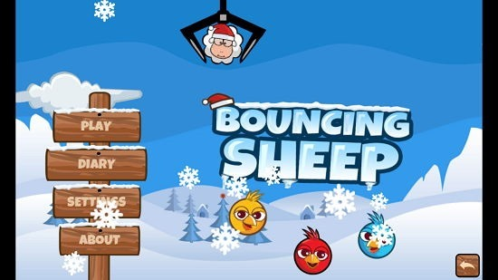 Bouncing Sheep Main Menu