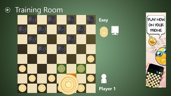 Checkers Live training room